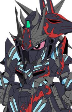 Delta Gundam Sasuke